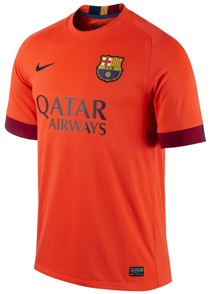 Maillots 2014 2015 fc for Barca maillot exterieur