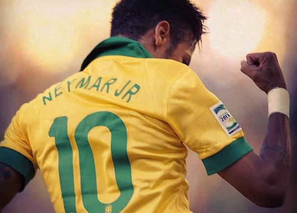 Neymar bute sur Ochoa - Fc-Barcelone.com