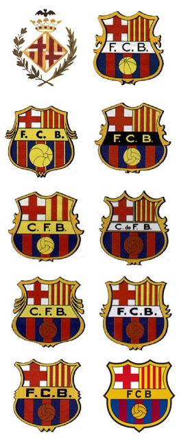 écusson FC Barcelone