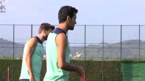 Sergio Busquets a repris l'entraînement - Fc-Barcelone.com