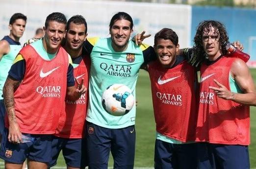 Puyol réintègre le groupe - Fc-Barcelone.com