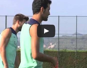 Le Barça a repris l'entraînement ce lundi - Fc-Barcelone.com