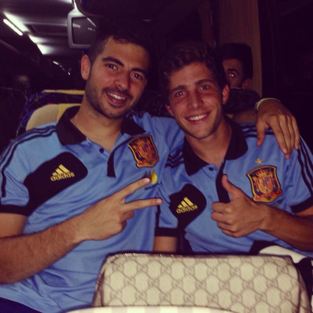 Victoire pour Sergi Roberto avec les -21 ans - Fc-Barcelone.com
