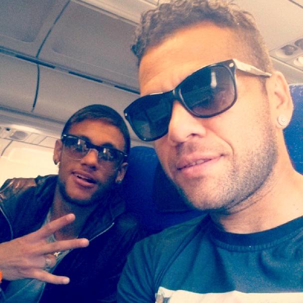 Neymar et Alves de retour à Barcelone - Fc-Barcelone.com
