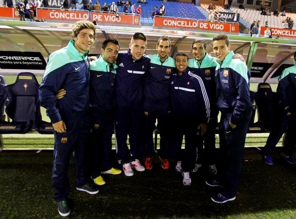 Beaucoup d'anciens Blaugrana au Celta Vigo - Fc-Barcelone.com