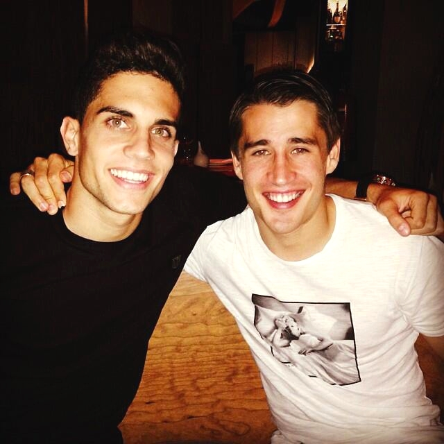 Bartra et Bojan ont dîné ensemble - Fc-Barcelone.com