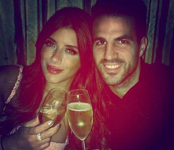 Dîner en amoureux pour Cesc et sa compagne Daniella - Fc-Barcelone.com