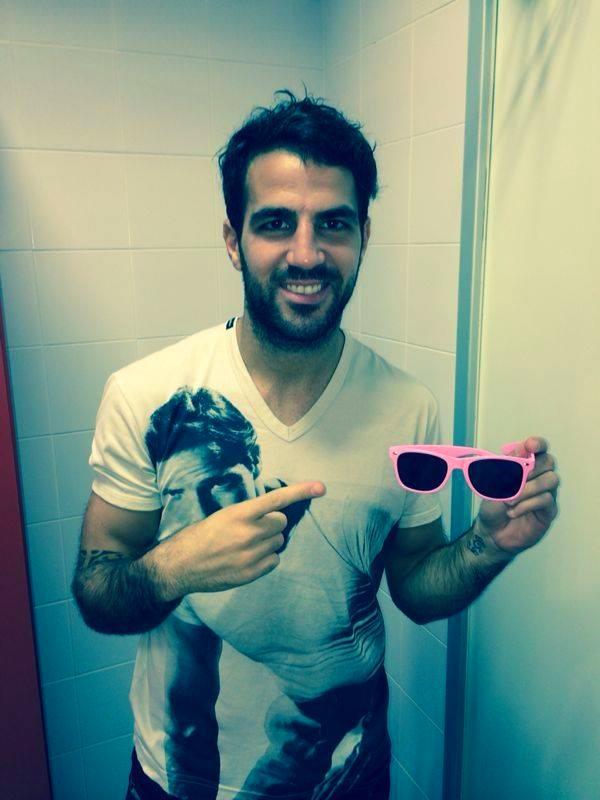 Des lunettes roses pour Fabregas - Fc-Barcelone.com