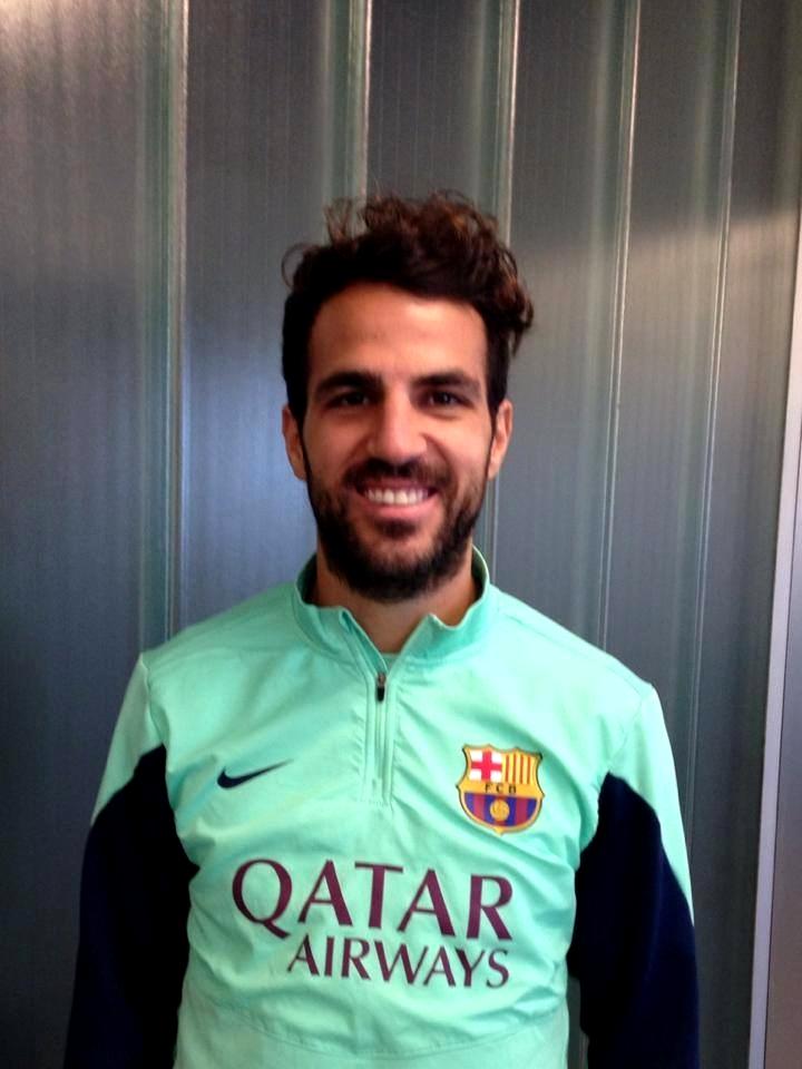 Cesc est prêt pour l'entraînement - Fc-Barcelone.com
