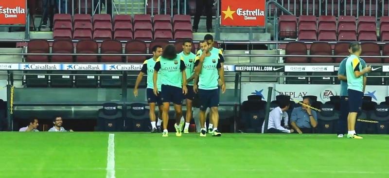 Reprise des entraînements - Fc-Barcelone.com