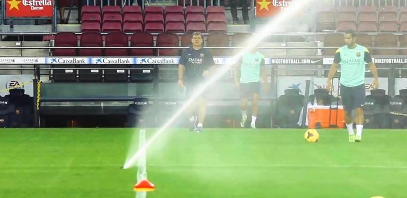 Dernier entraînement avant le derby - Fc-Barcelone.com