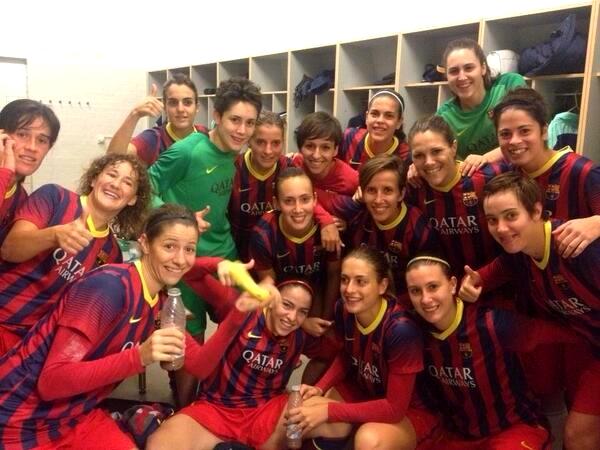 L'équipe féminine en huitièmes de la Ligue des Champions - Fc-Barcelone.com