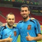 Sept Blaugrana avec l'Espagne - Fc-Barcelone.com