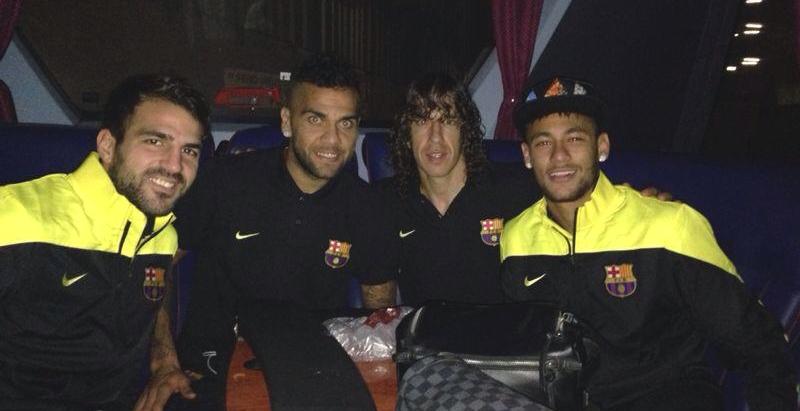Le Barça est arrivé à Milan - Fc-Barcelone.com