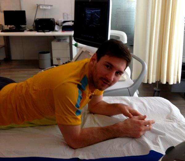 Lionel Messi pourrait déjà revenir contre Osasuna - Fc-Barcelone.com