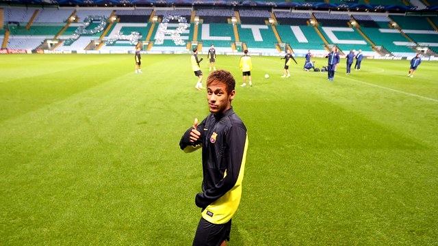 Neymar est prêt pour le match contre le Celtic - Fc-Barcelone.com