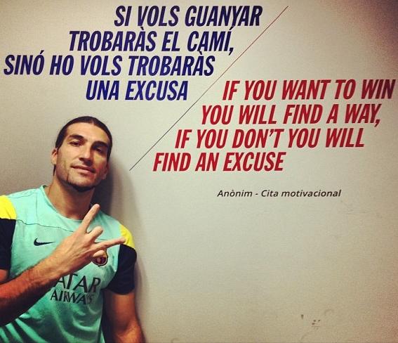 Pinto nous présente la citation du jour - Fc-Barcelone.com