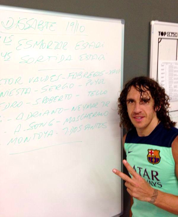 Carles Puyol is back ! - Fc-Barcelone.com