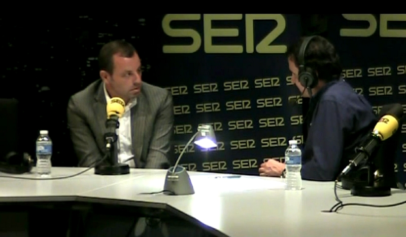 Sandro Rosell en interview à la radio espagnole - Fc-Barcelone.com