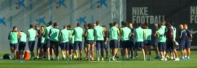 Le Barça reprend l'entraînement après le Clasico - Fc-Barcelone.com