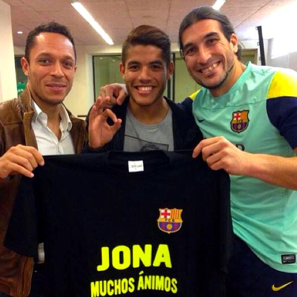 Le Barça soutient Jonathan Dos Santos - Fc-Barcelone.com