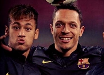 Adriano: «Nous sommes tous très contents de Neymar» - Fc-Barcelone.com