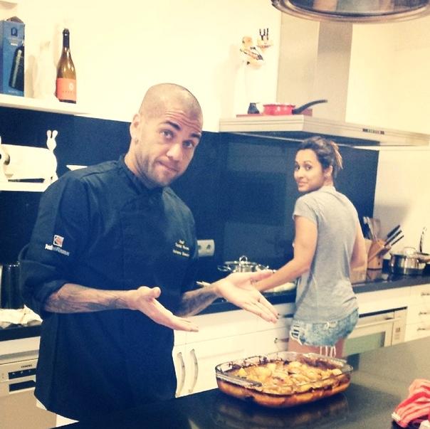 Après-midi cuisine chez les Alves - Fc-Barcelone.com