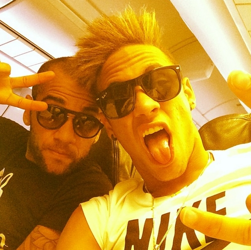 Neymar revisite le look «punk» - Fc-Barcelone.com