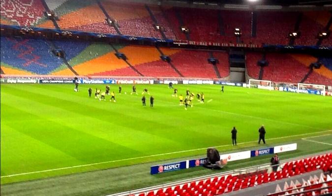 Les joueurs sont arrivés à Amsterdam - Fc-Barcelone.com