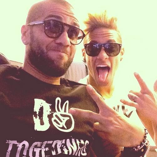 Alves et Neymar en route pour Miami - Fc-Barcelone.com