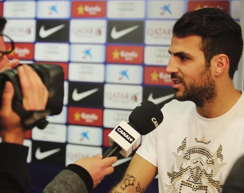 Cesc a demandé à partir - Fc-Barcelone.com