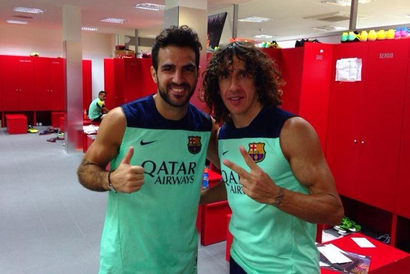 Le Barça se prépare pour le match de ce week-end - Fc-Barcelone.com