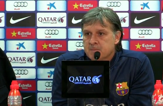 Martino: «Messi n'était pas prêt» - Fc-Barcelone.com