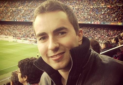Jorge Lorenzo présent au Camp Nou - Fc-Barcelone.com