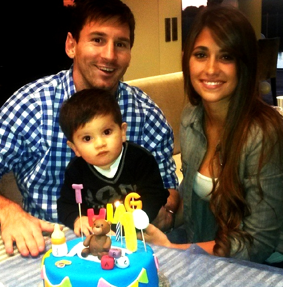 Bon anniversaire, Thiago Messi ! - Fc-Barcelone.com