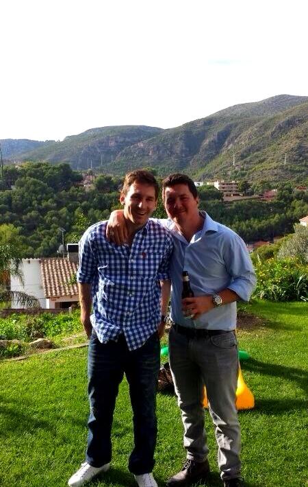 Week-end en famille pour Lionel Messi - Fc-Barcelone.com