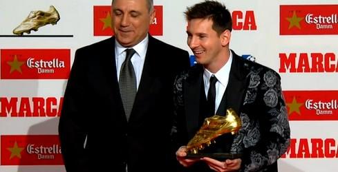 Lionel Messi offrira son Soulier d'Or au Camp Nou - Fc-Barcelone.com
