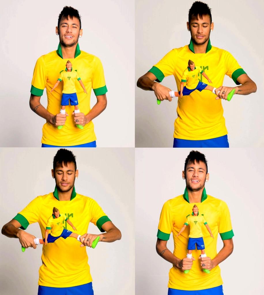 Neymar présente un nouveau gadget - Fc-Barcelone.com