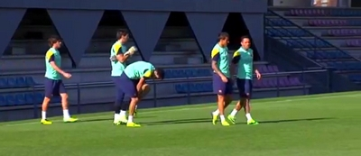 Le Barça a déjà repris l'entraînement - Fc-Barcelone.com