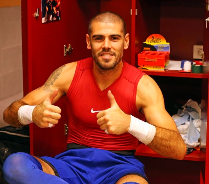 Valdés heureux de la qualification - Fc-Barcelone.com