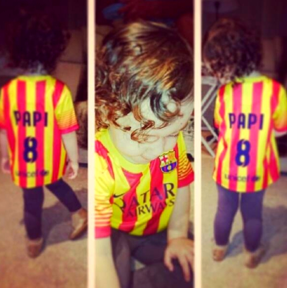 La fille d'Iniesta est prête pour le Clasico - Fc-Barcelone.com
