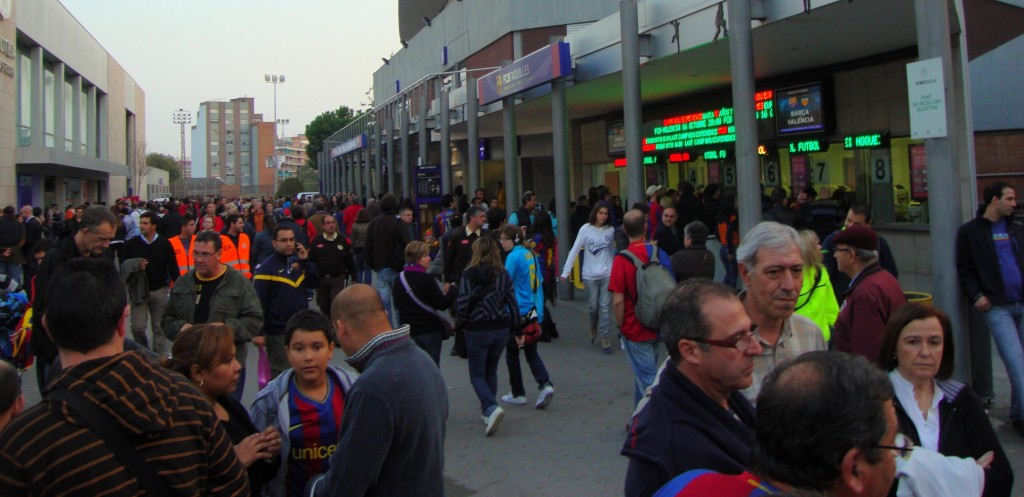 Le Barça reçoit Villareal au Camp Nou - Fc-Barcelone.com