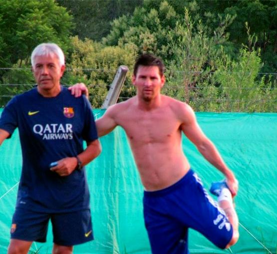 Lionel Messi est prêt - Fc-Barcelone.com
