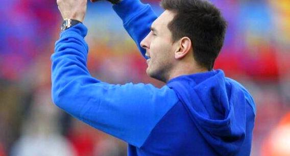 Double entraînement pour Messi - Fc-Barcelone.com