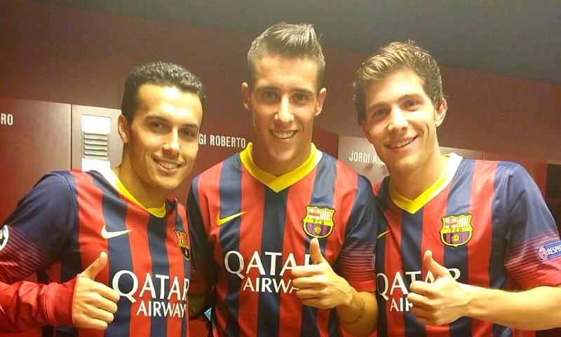 Satisfaction dans le vestiaire du Barça - Fc-Barcelone.com