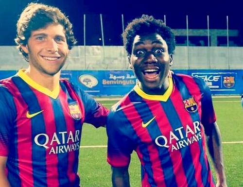 Dongou: «J'espère que mon match a plu au coach» - Fc-Barcelone.com