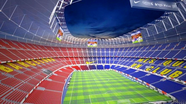 Rénovation du Camp Nou - Fc-Barcelone.com
