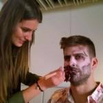 Piqué en zombie - Fc-Barcelone.com