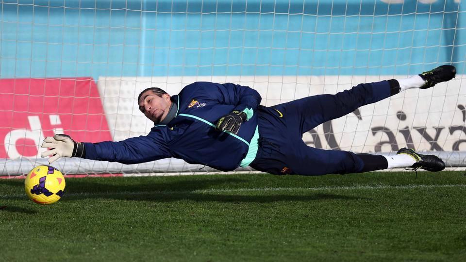 Pinto reste le titulaire en Coupe - Fc-Barcelone.com