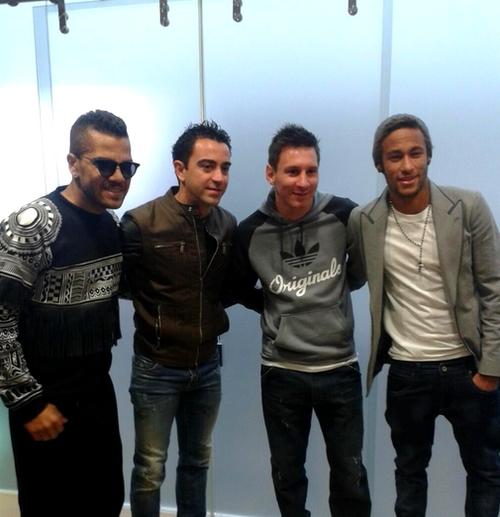 Neymar, Alves et Xavi accompagneront Messi - Fc-Barcelone.com